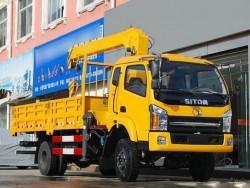 Sitom 4x2 3 Ton Mini Truck Crane