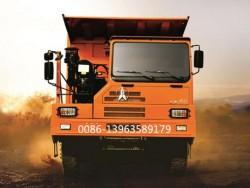 420HP Beiben 6x4 70 ton wide body mine dump truck
