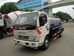 left hand drive dongfeng 5ton water spraying truck