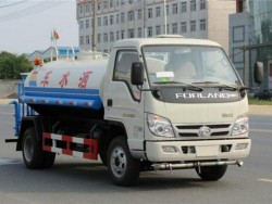 right hand drive 5m3 foton water trucks