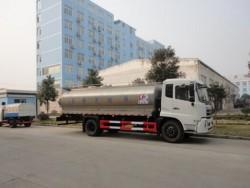 diesel 180hp 10 ton bulk milk transport tank truck