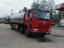 18t FAW fresh milk transportation truck