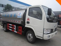 dongfeng 5000liter milk delivery truck