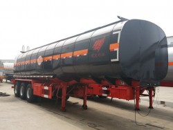 38cbm 3 axle  Bitumen Tanker Trailer