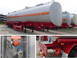 40000L Bitumen Tank Trailer with Heating System