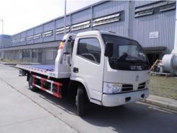 DFAC light duty flatbed werker tow truck