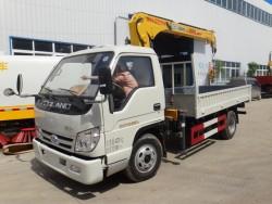 FONTON FORLAND 4*2 Small Truck Lift Crane 3.2 Ton
