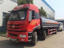 FAW 6x2 21000L flammable liquid transport tanker truck