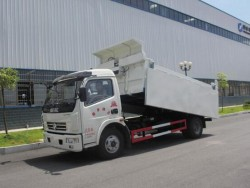 Dongfeng 4*2 rear unloading garbage dump truck
