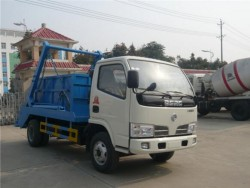 Dongfeng 6m3 arm roll garbage truck