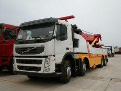 Volvo 8x4 100 ton recovery truck vehicle