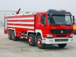 8x4 25 ton howo rescue fire truck