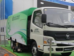 Foton Aumark 4x2 Pure electric Compactor garbage truck