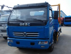 dongfeng 6-8cbm swing arm garbage truck