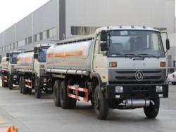 6x4 25cbm truck fuel tank