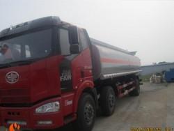 Factory direct sale 6x2 FAW 23cbm Aluminum alloy fuel tanker truck