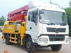 25m 30m 32m 33m 36m 37m Mounted Concrete Boom Pump Truck