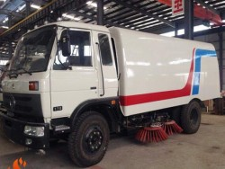 Dongfeng right hand drive 8CBM street sweeper truck