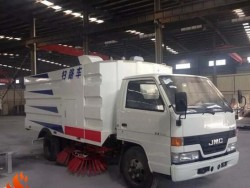 2017 JMC truck mounted sweeper diesel power truck