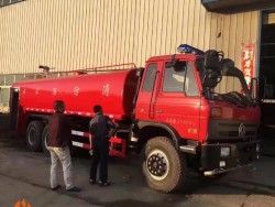 dongfeng 6x4 20000L water fire sprinkler truck