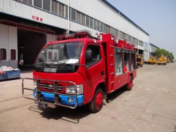 Dongfeng 4x2 4m3 International Emergence Fire Truck