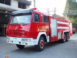 shacman 6*4 12000L water and foam tank fire engine truck
