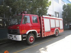 Euro3 4*2 190hp water foam fire fighting truck