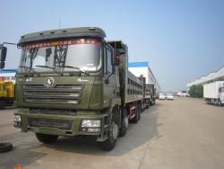 SHACMAN Olong Euro3 8x4 dump tipper truck