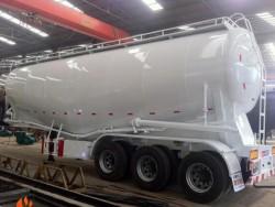 58~60cbm low density bulk cement carrier semi trailer