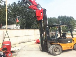 NEW design Hydraulic Small Mobile Floor Crane with loading 3 ton