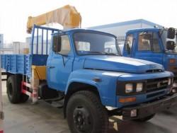 DongFeng 3.2ton mini truck mounted crane