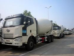 6x4 10 Wheel 14 Cubic Meters Concrete Mixer Truck
