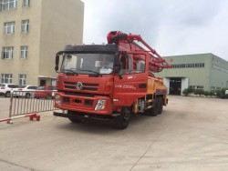 Dongfeng 6x4 35M Truck Mounted Concrete Boom Pump Truck
