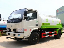 DONGFENG 4X2 5000 Liters water tank truck