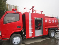 Dongfeng professional 4X2 Fire water tank truck
