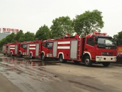 4000L DONGFENG 4x2 Fire Fighting Truck