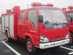 3000L ISUZU 4x2 Fire Fighting Truck