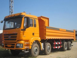 SHACMAN 8x4 340hp 12 wheeler dump trucks