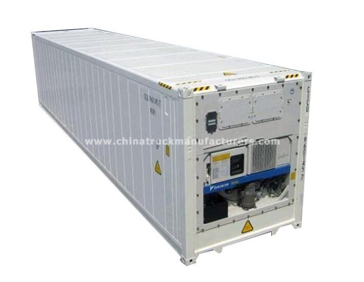 China new 40ft reefer container