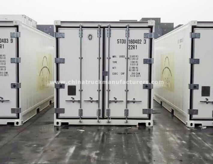 28.6 CBM 20 ft cooling refrigerated container