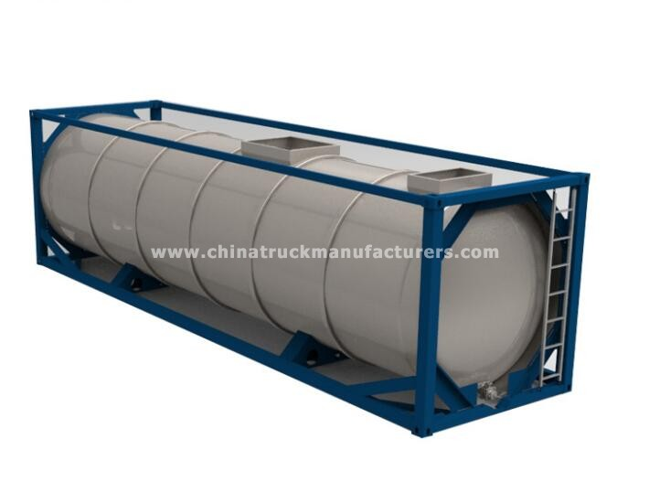 China cheap 40ft ISO fuel tank container