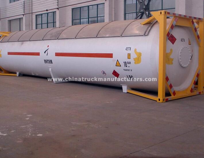 Factory manufacturer 40 ft LPG T50 tank container