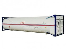 China supplier 40 ft LNG tank container