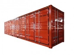 China 40 foot open side container