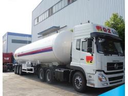 China 50m3 LPG tank trailer