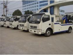 China 5 ton military wrecker truck