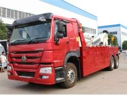 China 16 ton wrecker truck