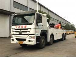 China 100 ton wrecker