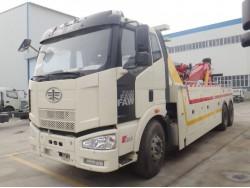China FAW 16 ton rotator wrecker