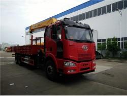 6*4 China 12 ton crane truck